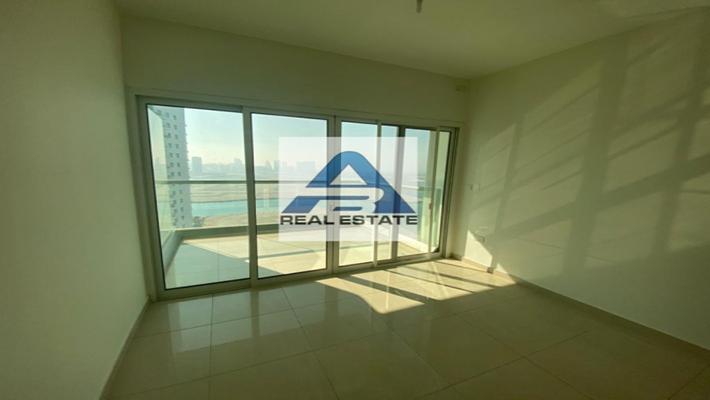 No Fee - Two Bedrooms Sea View ! Balcony ! Facilities ! Reem Island