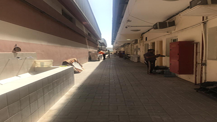 8 to 10 Persons Capacity 700 Aed Labor Camp For Rent in Al Jurf
