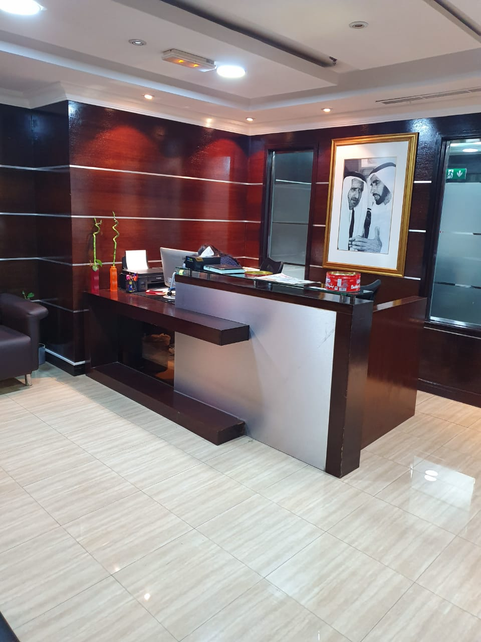 Fully Serviced Office | 200Sqft | AED 18,500 Only | Free Chiller, DEWA, WIFI | Meeting Room