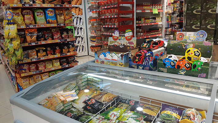 Supermarket business In rented residential tower in Prime location in Sharjah is for sale